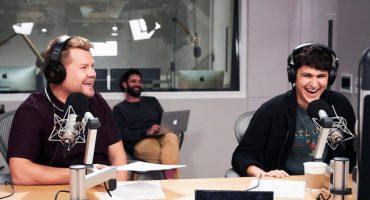 Esto pasa cuando James Corden y Ezra Koenig se juntan en un programa de radio