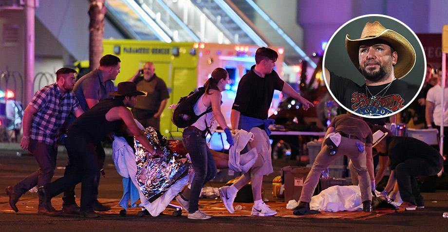 Cantante que dio show durante atentado en Las Vegas habla sobre lo que pasó