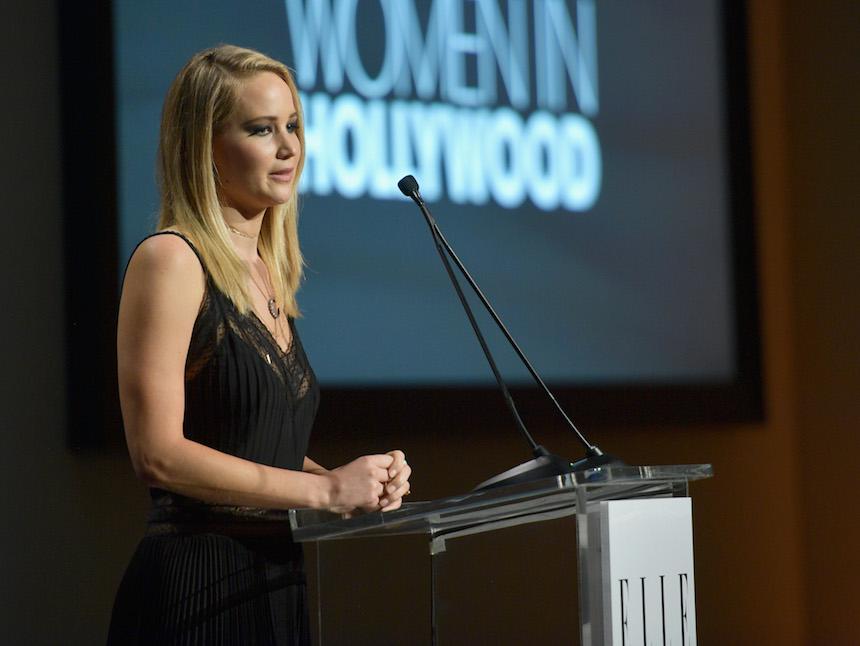 Jennifer Lawrence para Elle