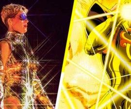 Katy Perry es el nuevo Caballero del Zodiaco