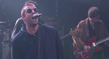 """Liam Gallagher se """"reivindica"""" con James Corden y aparece en su show"""