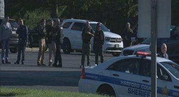 Reportan tiroteo en zona industrial de Maryland; hay varios heridos