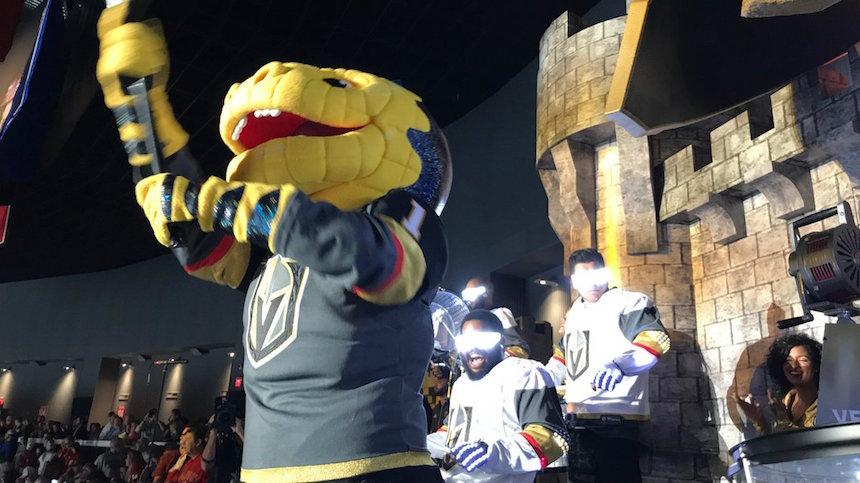 El premio a la mascota más fea del mundo es para los Vegas Golden Knights