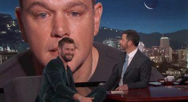 Matt Damon interrumpe entrevistas de Thor y Hulk y sus reacciones son ÉPICAS 😂