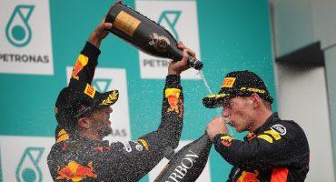 ¡Sorpresa! Max Verstappen se lleva el Gran Premio de Singapur