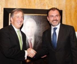 José Antonio Meade y Luis Videgaray