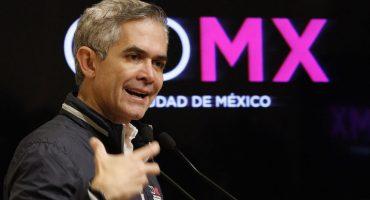 """'Oiiiilo'… dice Mancera que la CDMX está """"con niveles de seguridad aceptables"""""""