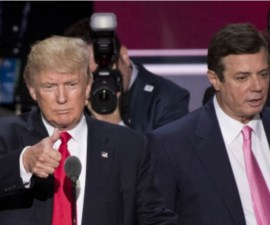 Paul Manafort y Donald Trump