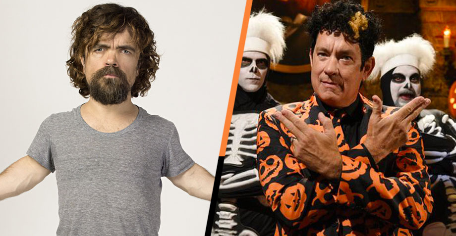 Tom Hanks, Peter Dinklage y Saturday Night Live son todo lo que necesitas este Halloween