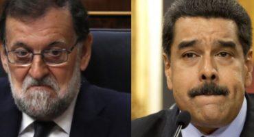 Y en la nota idiota del día: Maduro critica a Rajoy por represión en referéndum de Cataluña