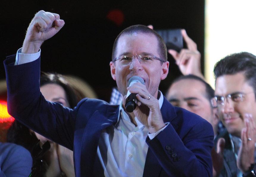 Ricardo Anaya Cortés, dirigente nacional del PAN