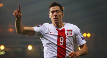 Robert Lewandowski le da el pase al Mundial a la Selección de Polonia