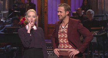 Ryan Gosling y Emma Stone hacen parodia de 'La La Land' en SNL