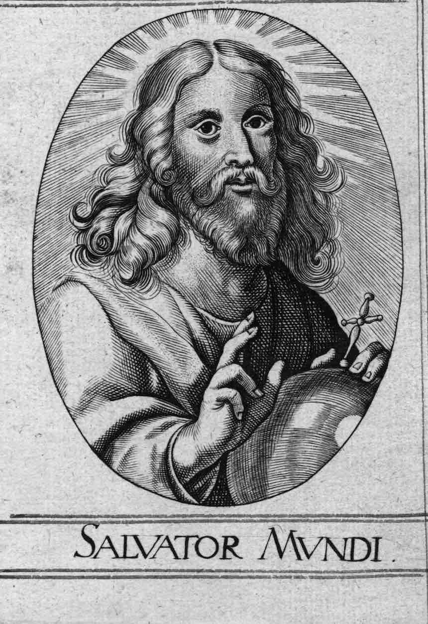 Salvador Mundi - Dibujo