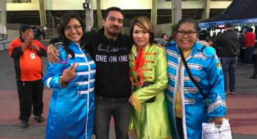 Mexicans on the run! 17 Sargentos Pimienta en el concierto de Paul McCartney