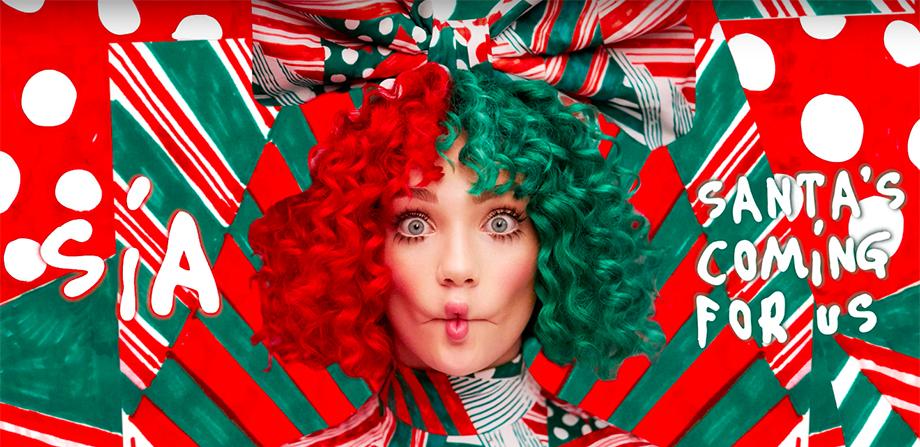 ¡Yei! No hay nada menos navideño que 'Santa's Coming For Us' de Sia