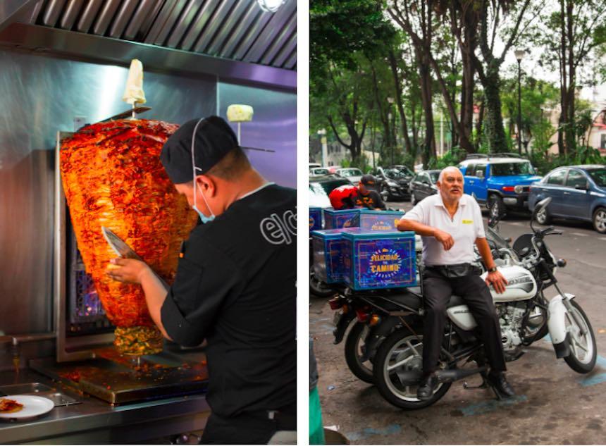 Tacos en la Ciudad de México - El Califa