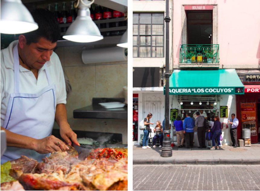 Tacos en la Ciudad de México - Los Cocuyos