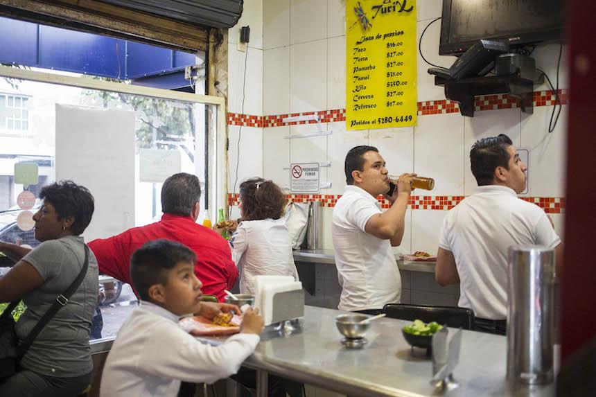 Tacos en la Ciudad de México - El Turix