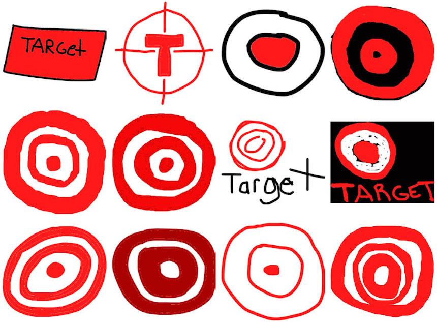 Target - Dibujos de los logos