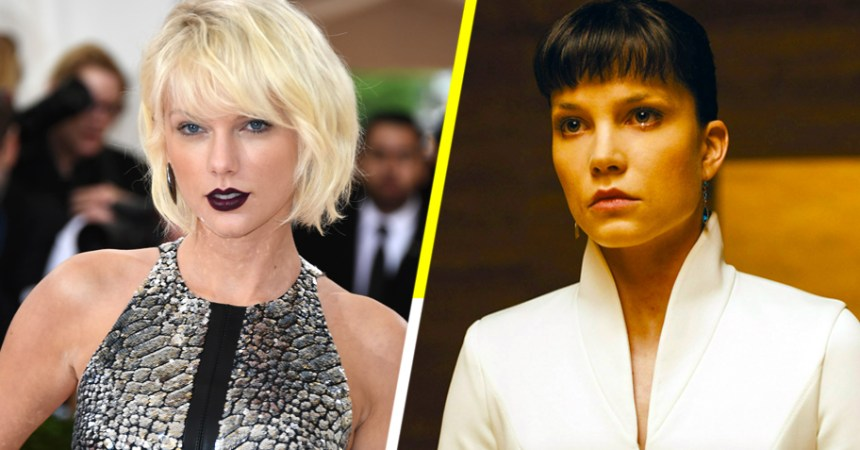 Look what you made me do: villana de 'Blade Runner 2049' se inspiró en Taylor Swift