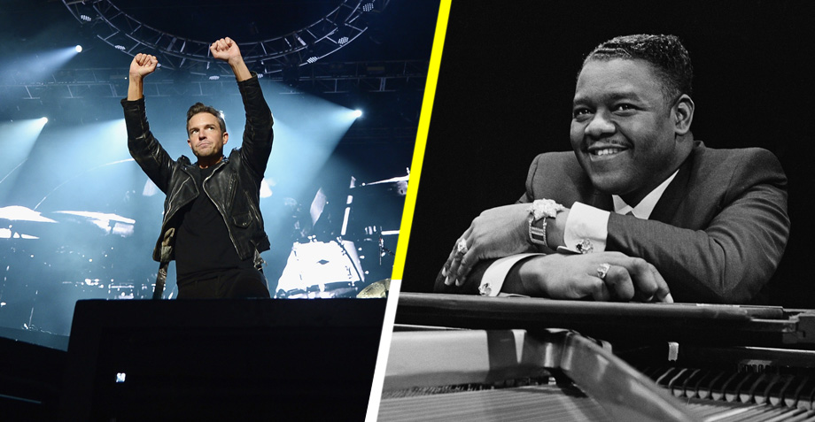 The Killers rinde tributo a Fats Domino en Nueva Orleans