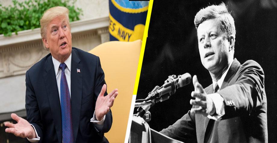 Donald Trump podría desclasificar los archivos sobre el asesinato de John F. Kennedy
