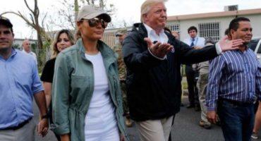 Dos semanas después del huracán María, así fue la desastrosa visita de Trump a Puerto Rico