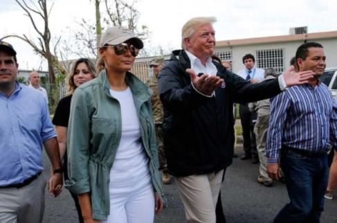Trump en Puerto Rico