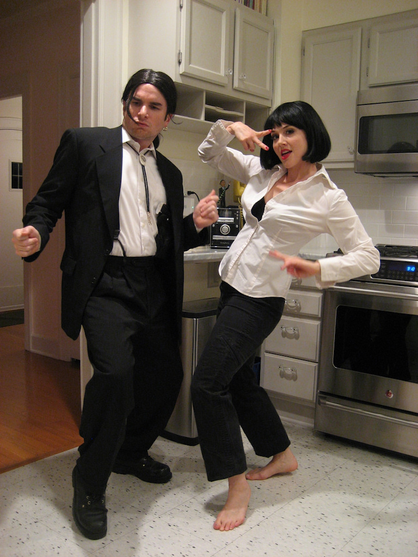 Disfraces para parejas de Halloween - Vincent y Mia