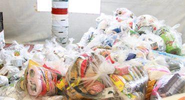 Arrumban víveres, ropa y ayuda para damnificados en Venustiano Carranza