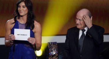 Hope Solo acusó a Blatter de haberla agredido sexualmente