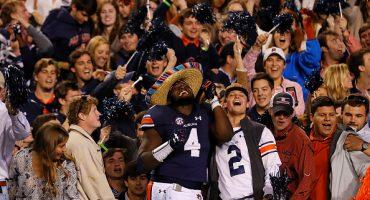 Auburn bailó al no.1 del ranking la NCAA