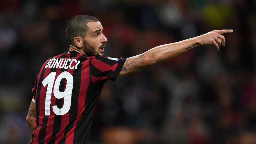 Bonucci está en la mira del Real Madrid para el mercado de invierno