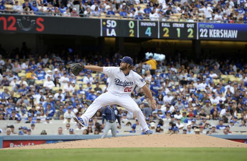 Clayton Kershaw Dodgers Padres en México
