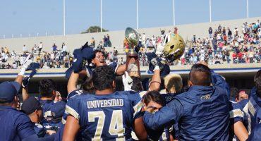 Los Pumas rugieron en CU y se proclamaron campeones en el futbol americano de la ONEFA