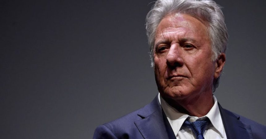 El actor Dustin Hoffman