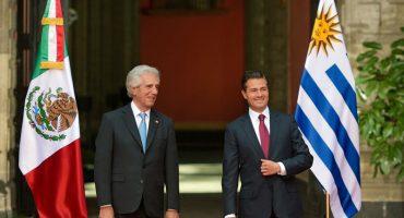 Peña Nieto hace un Peña Nieto y confunde al Presidente de Uruguay con el de Paraguay