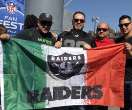 Fans Raiders NFL en Mexico