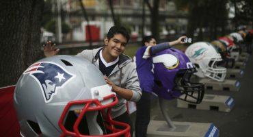 No toda la pachanga tochera es en el Estadio Azteca, ¡vámonos al Fan Fest de la NFL en México!