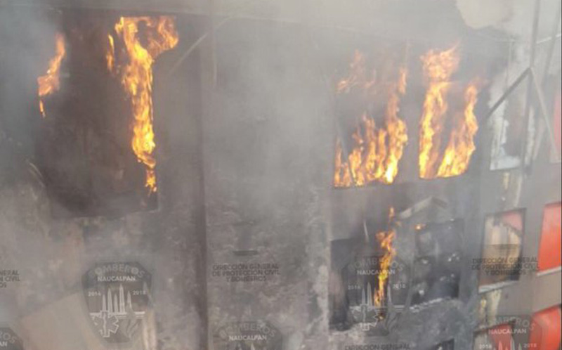Incendio Plaza Satelite