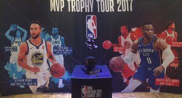 El trofeo del MVP de la NBA está en México, ¡y lo puedes ir a ver!