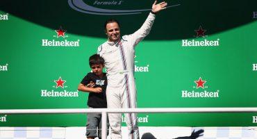 Felipe Massa dijo adiós en casa