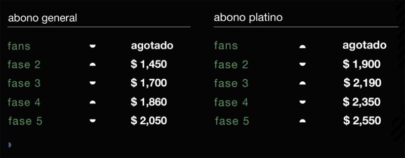 Previo Abonos Vive Latino