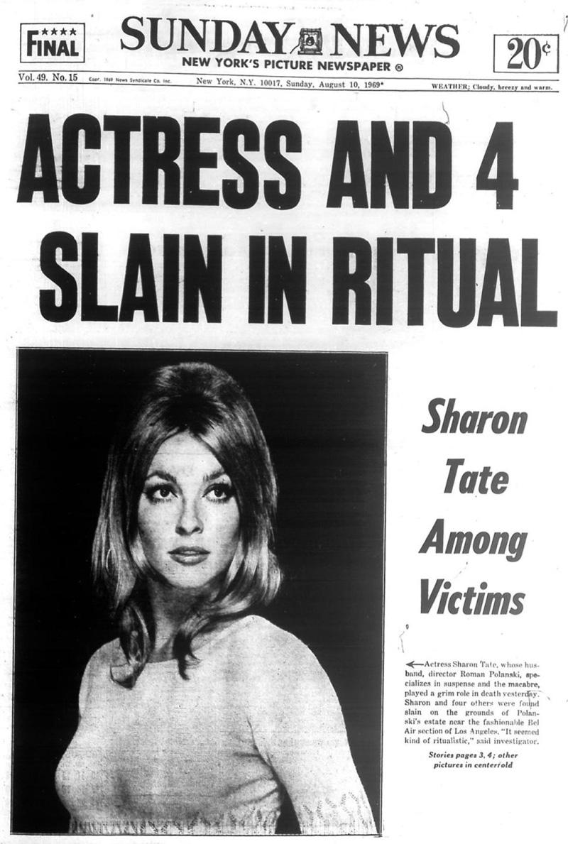 49 años: El asesinato de Sharon Tate, Charles Manson y The Beatles