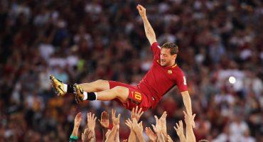 ¿Con qué sueñan las estrellas? Mira con quién quería jugar Francesco Totti