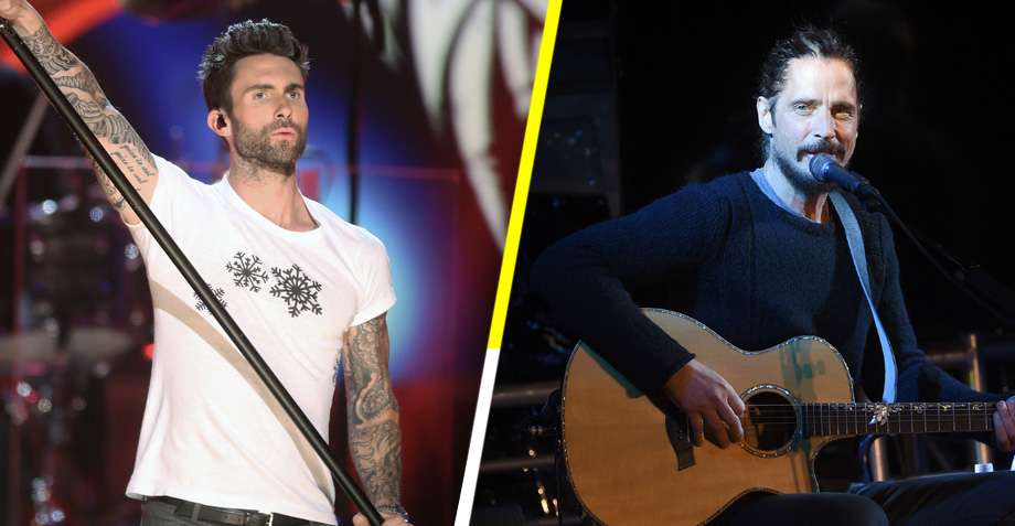 Adam Levine covereando a Chris Cornell es mejor que Adam Levine solo