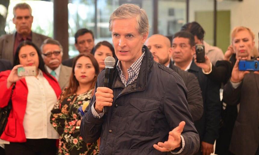 Alfredo del Mazo Maza, gobernador del Estado de México