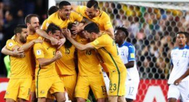 Australia se impone 3-1 a Honduras y clasifica a Rusia 2018