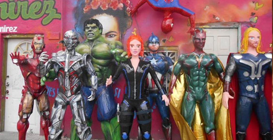 25 piñatas de 'The Avengers' que harían reír a Stan Lee